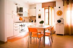 area pranzo e cucina