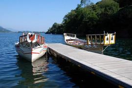 Il lago e le sue barche