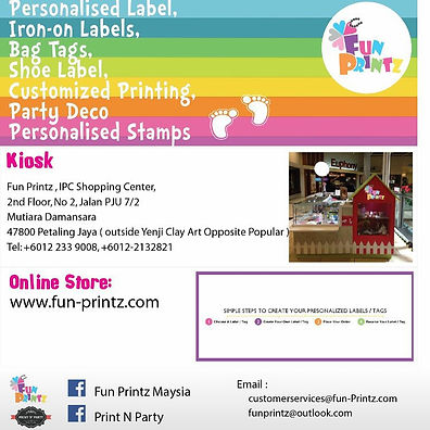 Fun Printz Personalized and Customized Labels