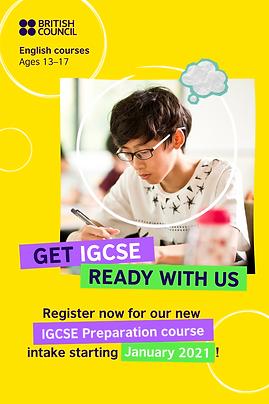 IGCSE Preparation Coursefor Kids