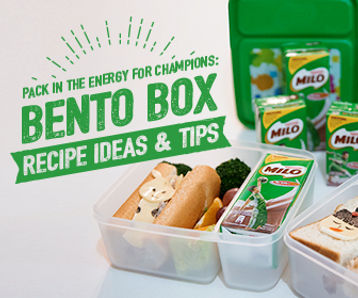 MILO® UHT Pack In The Energy For Champions