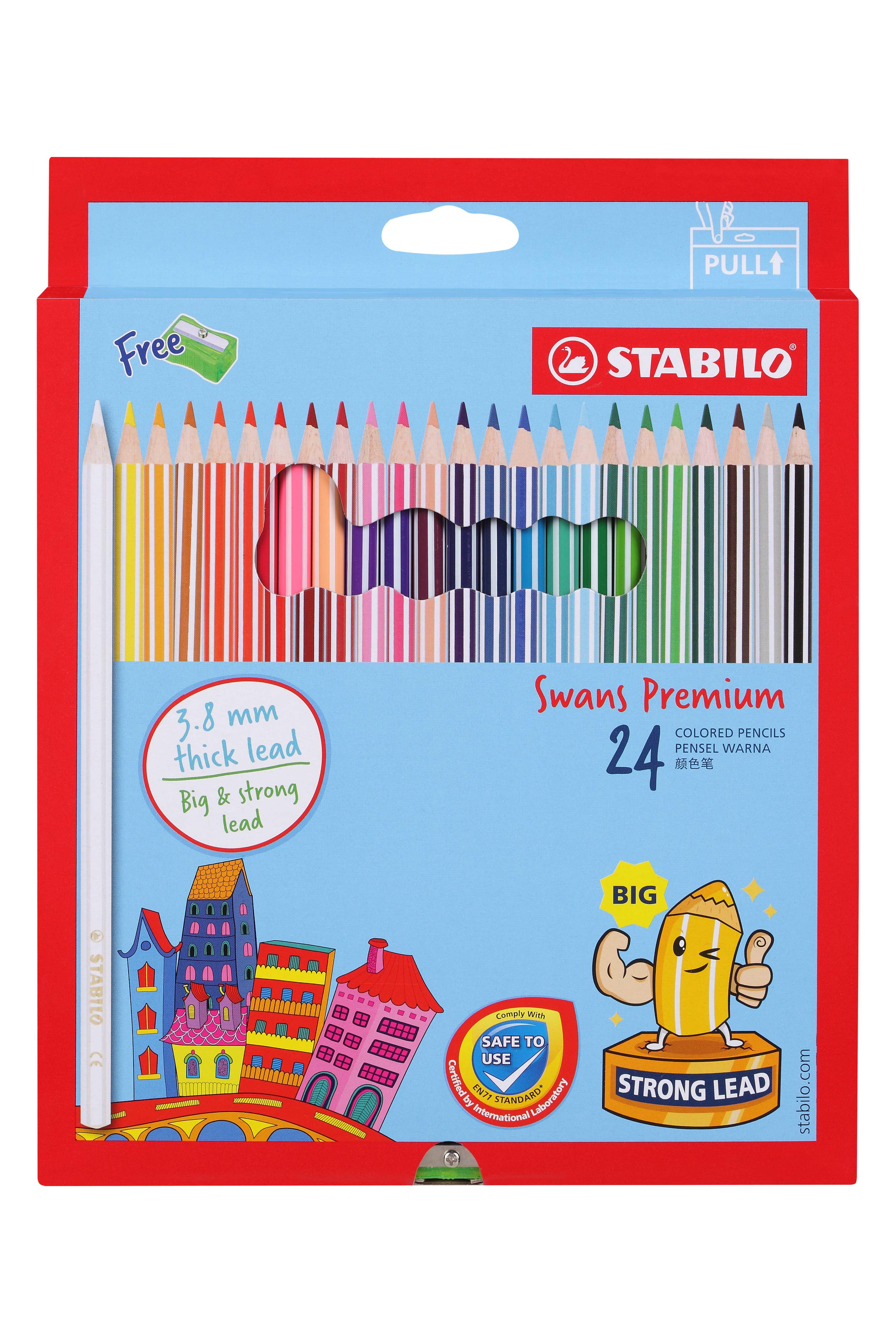 STABILO Swans Premium Colored Pencil