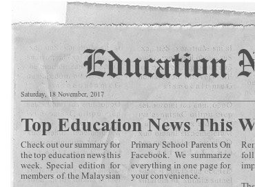 Education News Roundup 18 November 2017