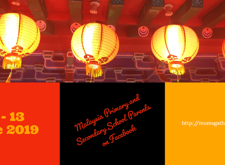 Chinese New Year 2020 school holidays