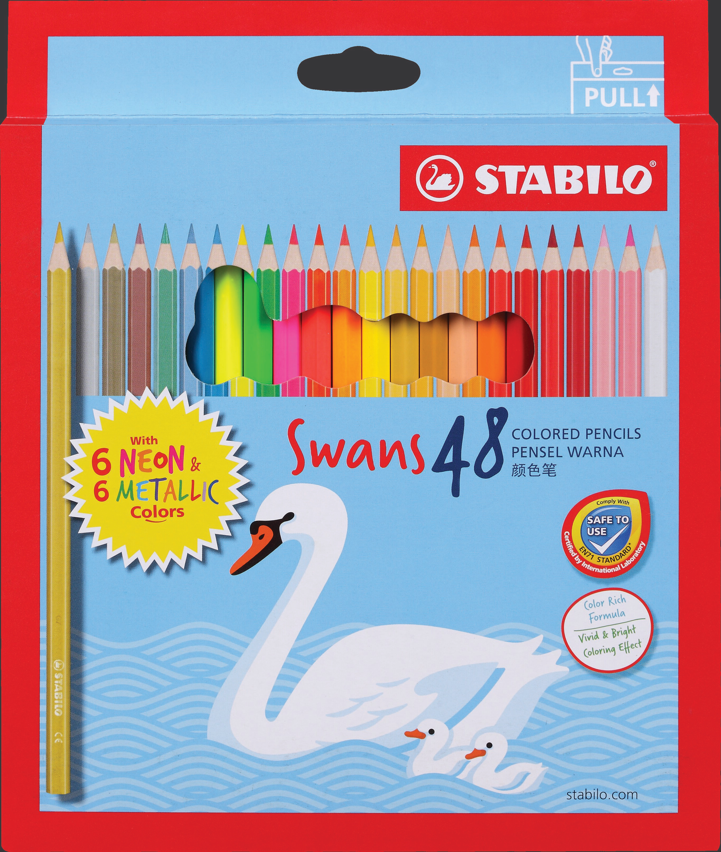 STABILO Swans Colored Pencils with Neon