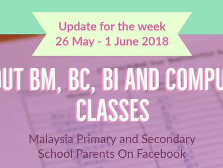 About BM, Chinese, English and Computer Classes