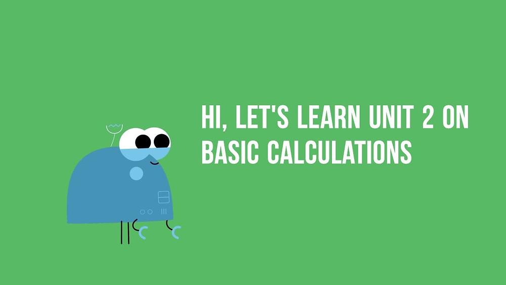 Bilingual English and Mandarin P1 Math Video