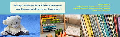 Malaysia Market for Children Preloved and Educational Items on Facebook