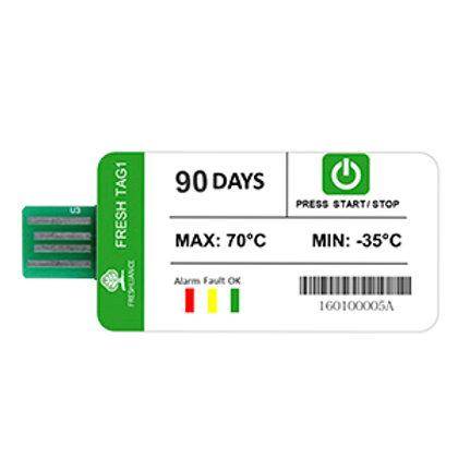 Data Logger de Temepratura Descartable USB de hasta 90 días de duración