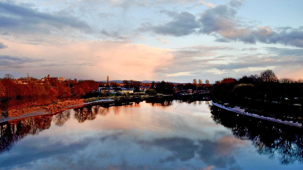 River Ribble Sunset
