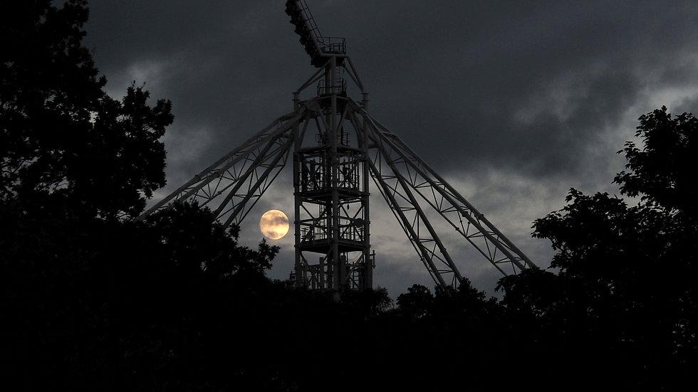 Moon over PNE