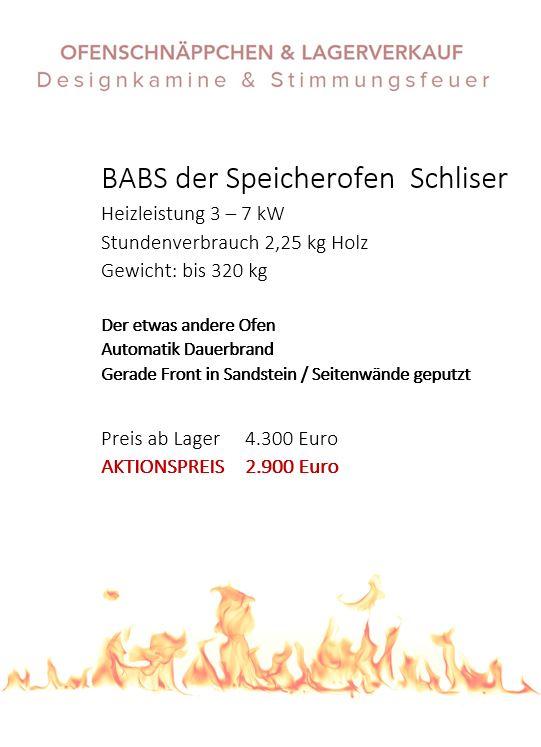 200 BABS Speicherofen