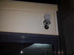מצלמת צינור למרפסת