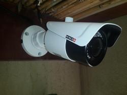 התקנת מצלמת צינור FULL HD