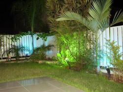 הקמת תאורת גן