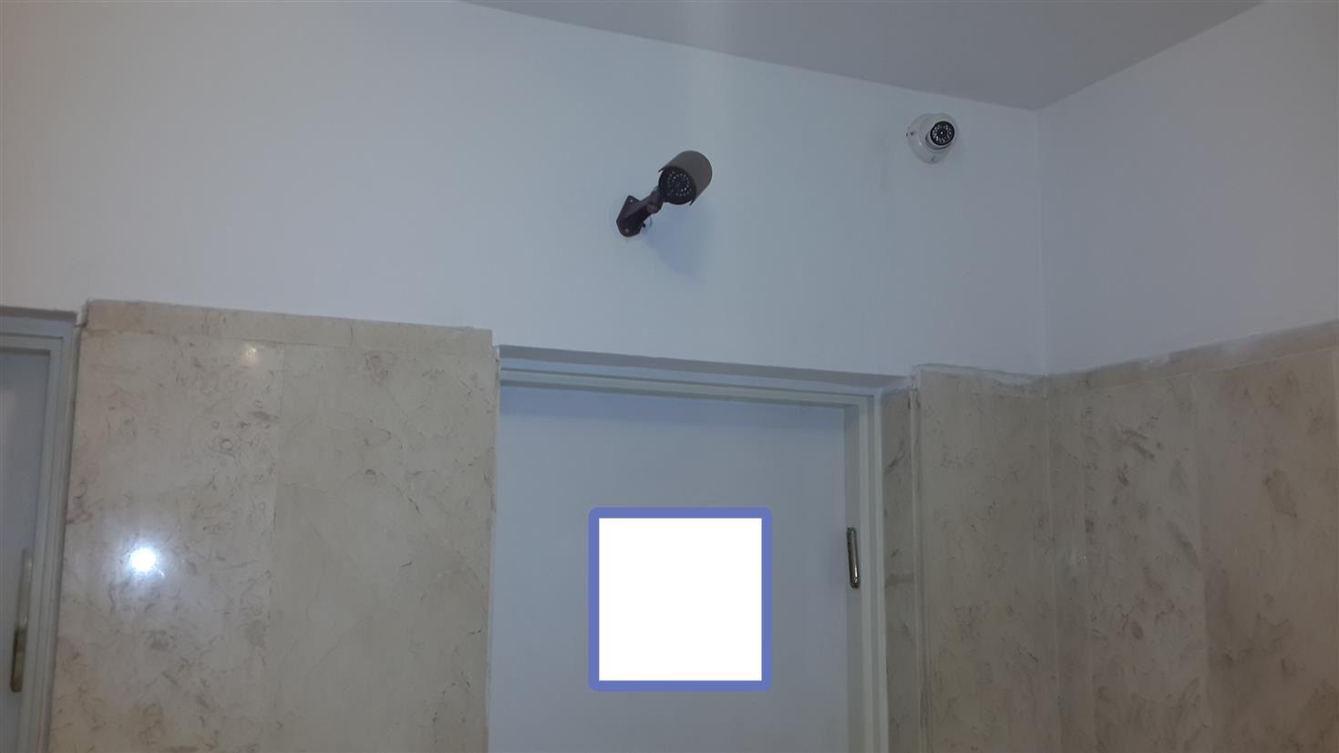 מצלמת רשת כיפה לכניסה לבית