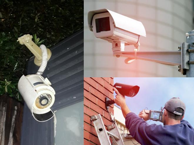 שירות תיקונים למצלמות אבטחה