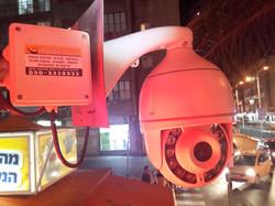מצלמות PTZ ממונעות