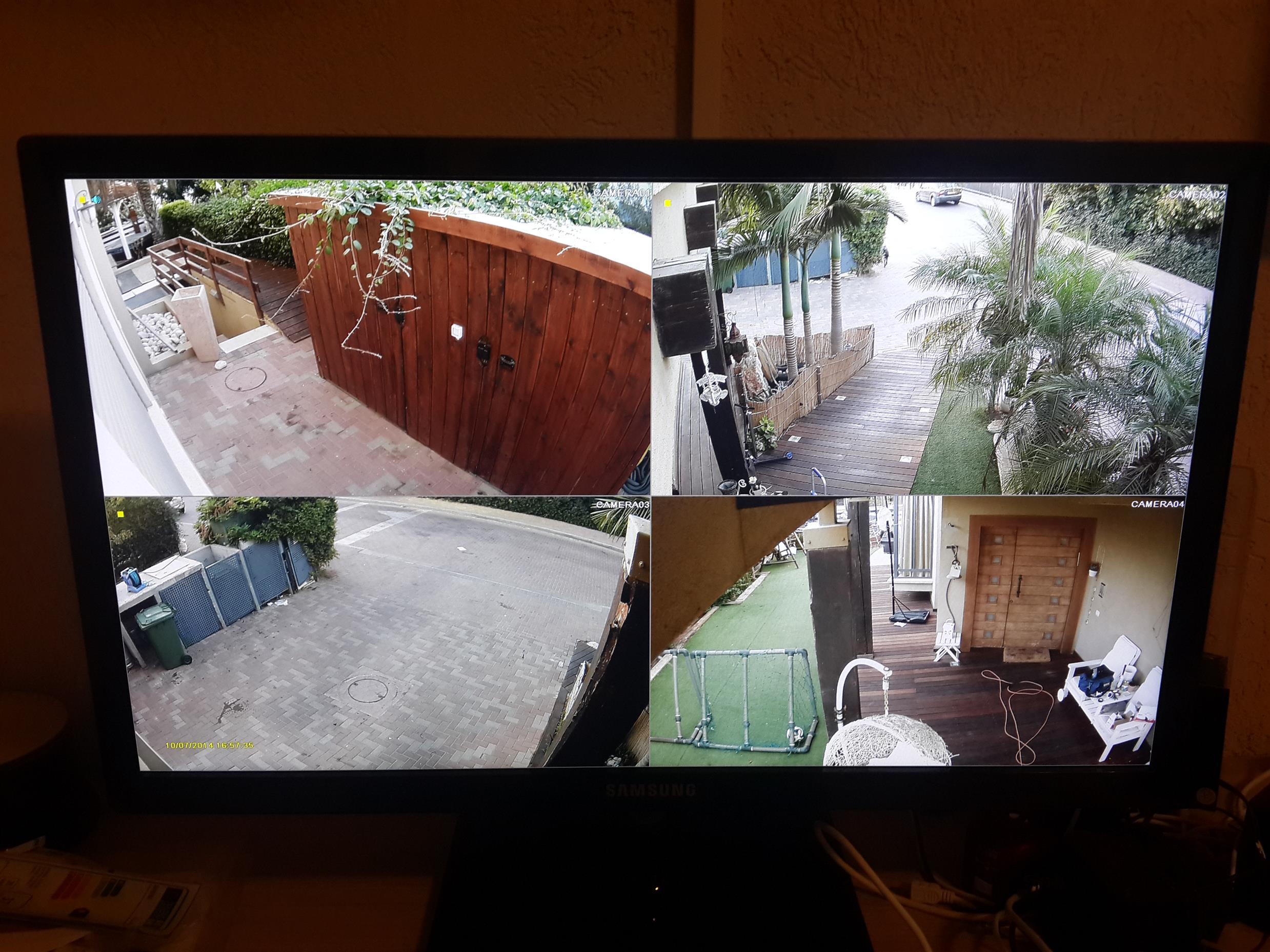 מערכת מצלמות ביתית FULL HD