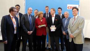 BK Angela Merkel in Trier
