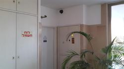 התקנת מצלמת רשת כיפה ללובי הבניין