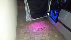 תאורת ליווי בפתיחת הדלת