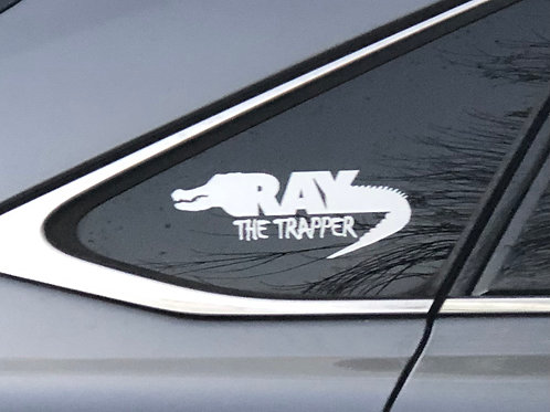 Ray the Trapper Window Decal
