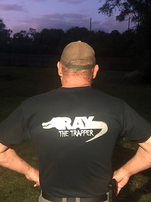 Ray the Trapper Shirt Back View