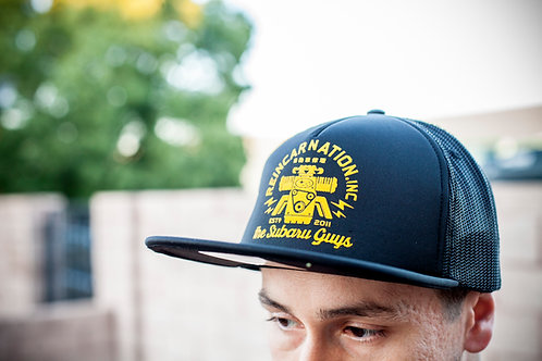 Black and Gold Trucker Hat