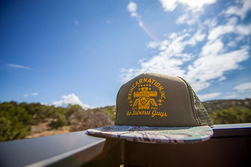 Camo Trucker Hat
