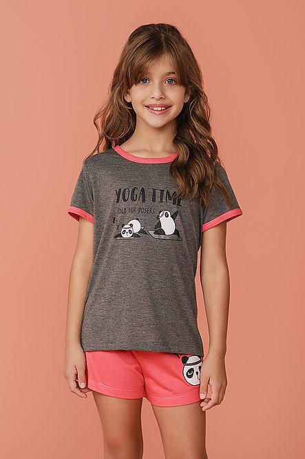 2376 Pijama Infantil T-shirt