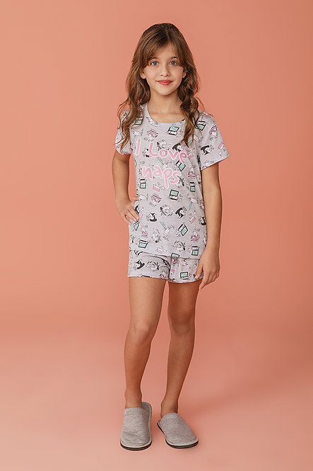2375 Pijama Infantil T-shirt