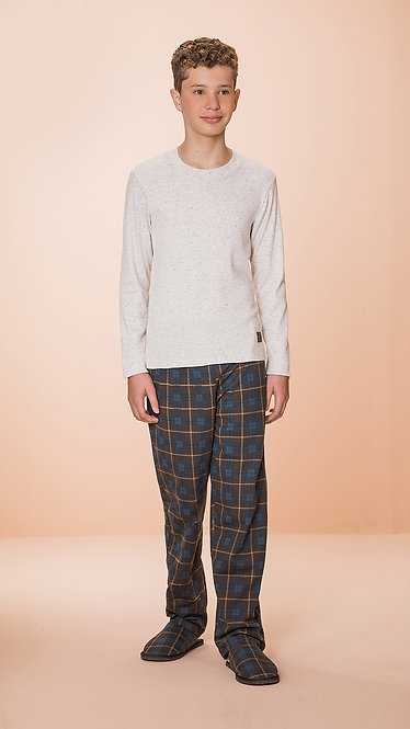 1235J Pijama Masculino Juvenil