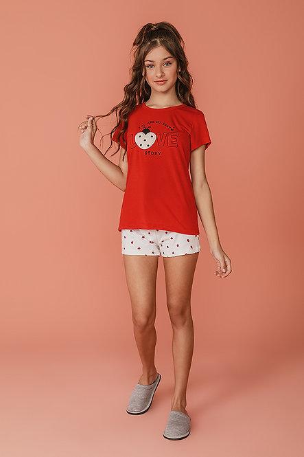 2377 Pijama Juvenil T-shirt