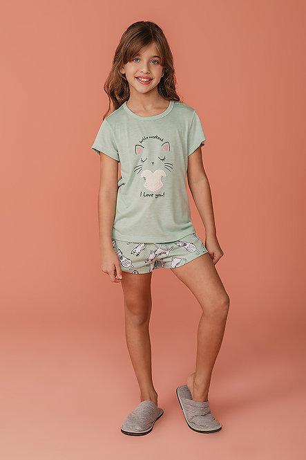 2371 Pijama Infantil T-shirt