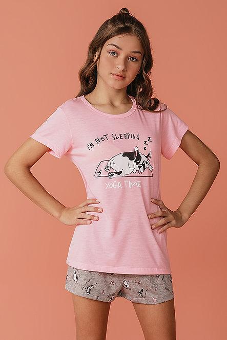 2372 Pijama Juvenil T-shirt