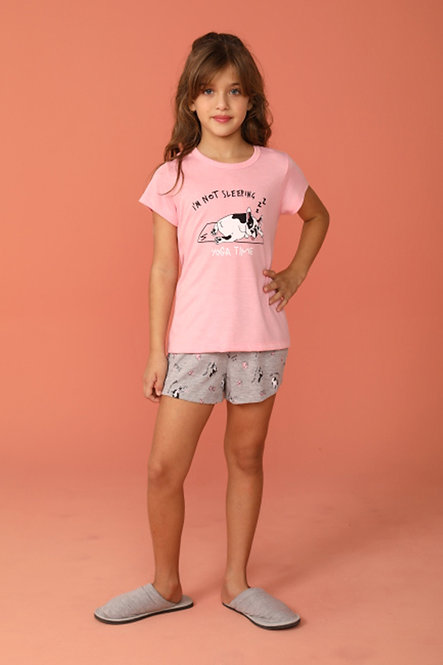 2372 Pijama Infantil T-shirt