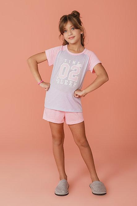 2378 Pijama Infantil T-shirt