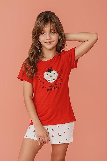 2377 Pijama Infantil T-shirt