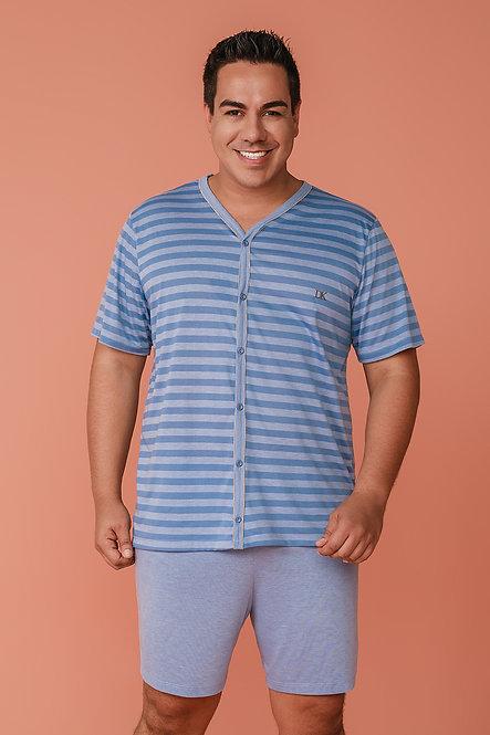 6854 Pijama Masculino Aberto