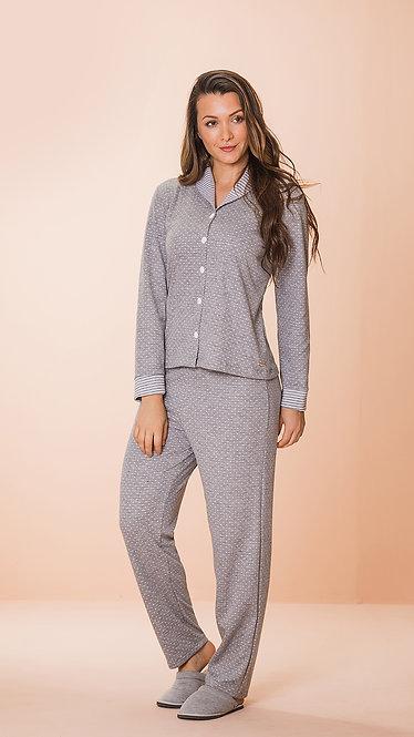8607 Pijama Feminino Dupla Face Aberto