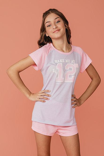 2378 Pijama Juvenil T-shirt