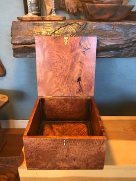 Redwood Burl Memorial Box