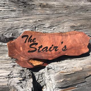 Redwood Family Name Sign