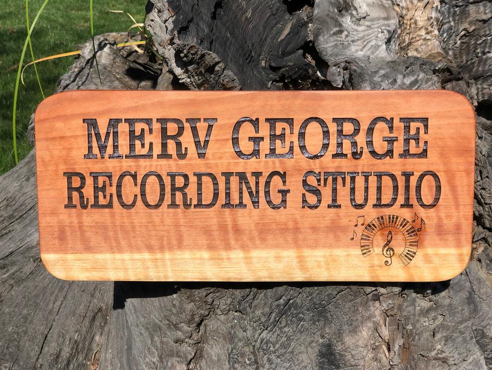 Redwood Memorial Sign
