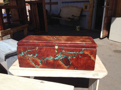 Manzanita Burl Memorial Box