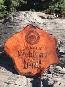 Redwood Retirment Plaque
