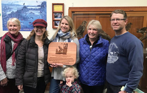 Redwood Sign Dedication