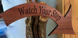 Redwood Arrow Sign