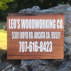 Business Sign, Redwood Commercial Sign